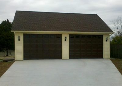 2 Car Garages Garage Builders Lebanon Tn 800