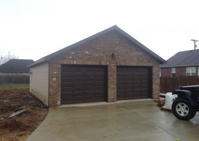 2 Car Garages Garage Builders Lebanon Tn 815