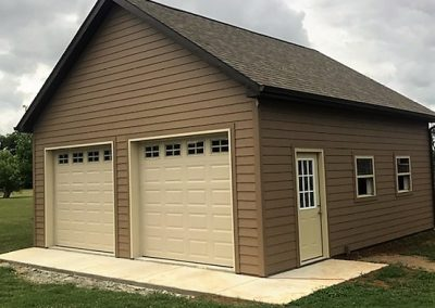 2 Car Garages Garage Builders Lebanon Tn 827