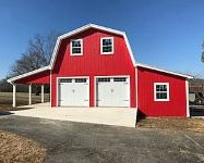 2 Story Garages Garage Builders Lebanon Tn 5