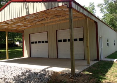 Pole Barns Garage Builders Lebanon Tn P Olebarn5